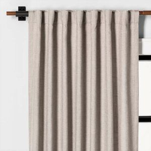 "NWT Curtain 108""x54"" Panel Solid Fresno Pebble"